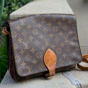 Authentic Vtg Louis Vuitton Cartouchiere GM bag